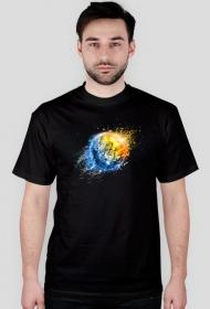 Koszulka męska z dużym sygnetem