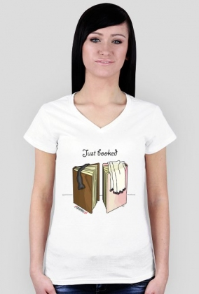 Koszulka Just booked (damska)