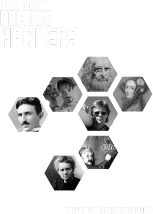 Famous Hackers (two sides)