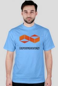 Grupa EKSPERYMENTATORZY - koszulka z logo