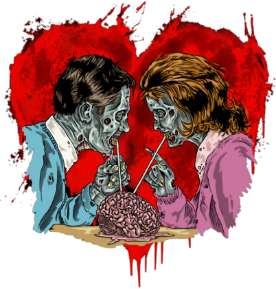 Zakochana para Zombie
