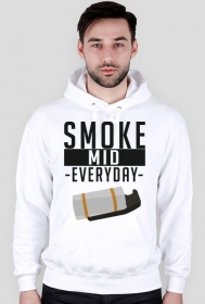 CSGO: Smoke Mid Everyday (Jasna bluza, męska)