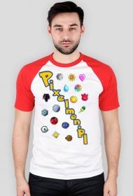 Koszulka Mistrza Pixelmon dwukolorowa