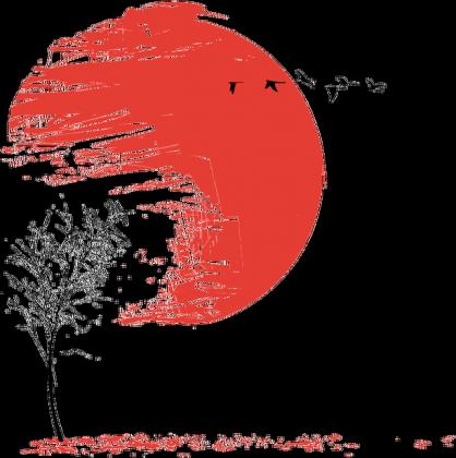 A Japońskie Drzewo Bluza Męska