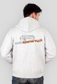 Bluza z kapturem Motospamerzy