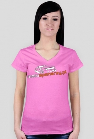 Koszulka damska Motospamerzy nadruk przód