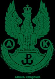 Armia Krajowa - unikalny wzór - damska