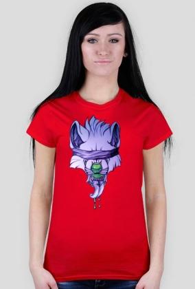 Toxic wolf - T-shirt damski