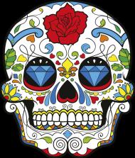 Diamond Skull Poduszka
