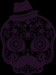 Torba Mustache Skull