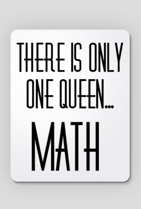 queenMath Mousepad