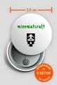 Minecraft Miniaturka - biała (Przypinka x9)