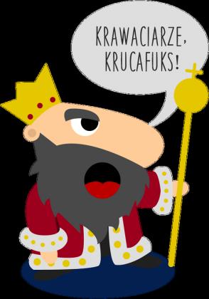 """Eko torba """"Krawaciarze, krucafuks!"""""""
