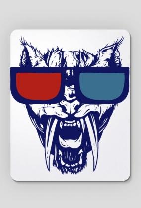Kinowy wilk (podkładka pod myszkę)