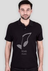 LOVE MUSIC polo
