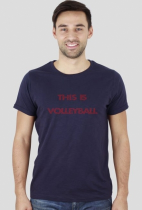 THIS IS VOLLEYBALL red