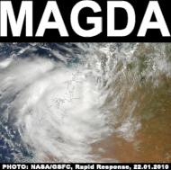cyklon tropikalny Magda