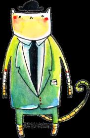 Kubek Elegancki Pan Kot