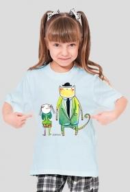 Koszulka Pan Kot i Ja