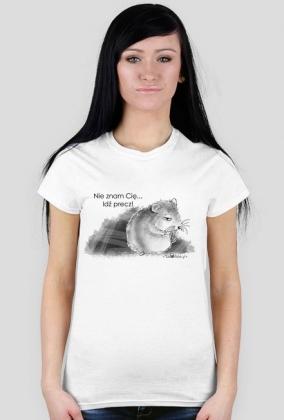 Idź precz - koszulka damska
