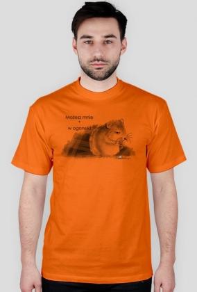 W ogonek - koszulka męska