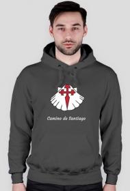 Bluza męska z kapturem Camino de Santiago