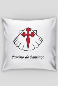 Poszewka na poduszkę Camino de Santiago.