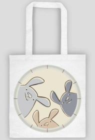 Eko torba - króliczki