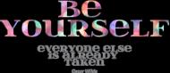 Be yourself - Ladies Bokserka