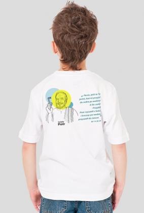 Koszulka Piotr w.1 (biel dziecięca)
