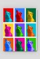 Drops Pop-art - Podkładka Pod Myszkę MuodeMotywy