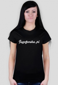 Koszulka Jugofonika - damska (czarna)