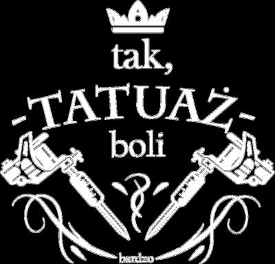 Komin Tak Tatuaż Boli Bardzo