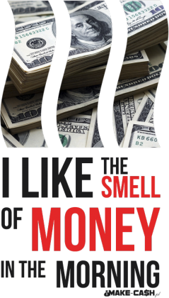 Koszulka - Smell the money!