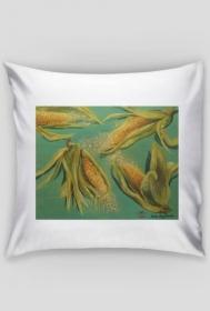 kukurydze - poszewka na poduszkę