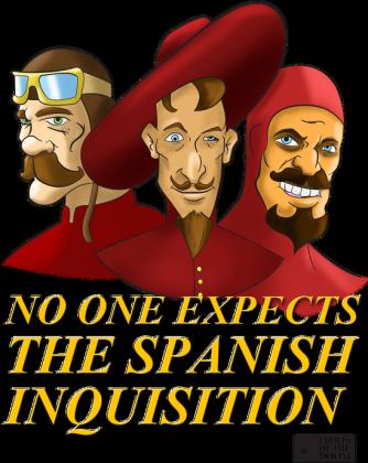 Hiszpańska inkwizycja!