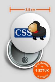 Przypinka CSS