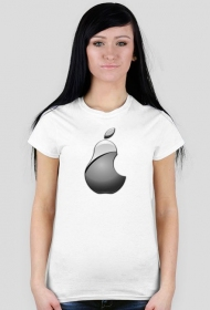 Koszulka apple / mac / ipad / iphone GRUSZKA [WOMAN]