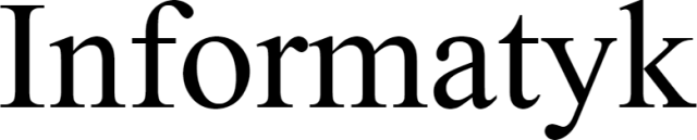 Kamizelnka odblaskowa INFORMATYK