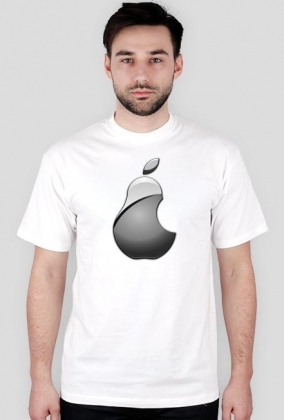 Koszulka apple / mac / ipad / iphone GRUSZKA [MEN]