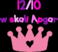 12/10 w skali Apgar - dziewczynka
