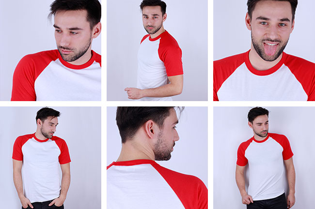 Zdjęcie rzeczywiste Łowca Logo Biało czerwona