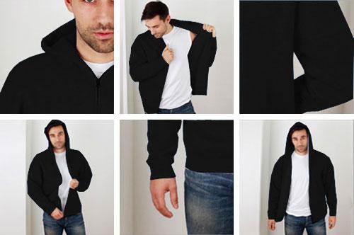 Zdjęcie rzeczywiste Bluza Black