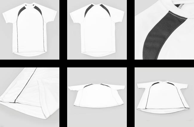 Zdjęcie rzeczywiste Koszulka biała