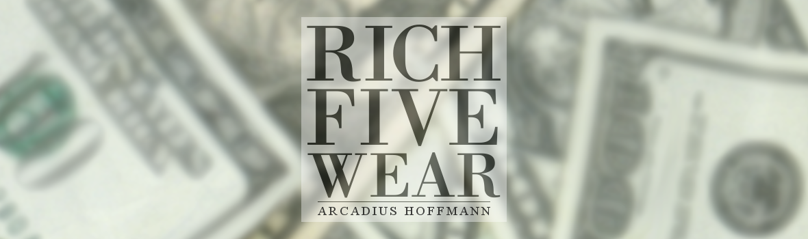RICH FIVE WEAR • $WAG CLOTHES