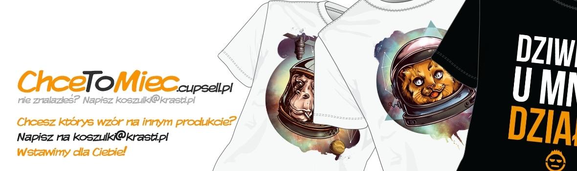 Koszulki z nadrukiem - możesz zrobić własny nadruk!